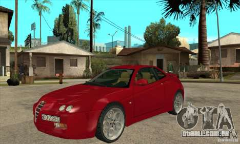 Alfa Romeo GTV para GTA San Andreas