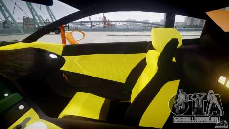 Lamborghini Gallardo Superleggera para GTA 4 vista interior