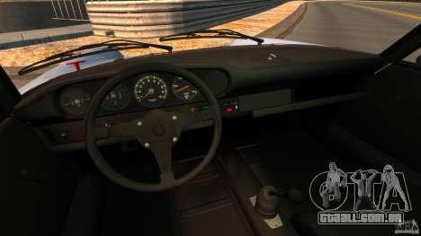 Porsche 911 Carrera RSR 3.0 Coupe 1974 para GTA 4 vista de volta