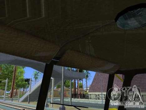 Ural 4320 GORSVET para GTA San Andreas vista superior