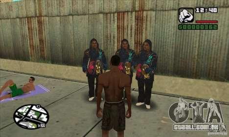 New Ballas para GTA San Andreas segunda tela