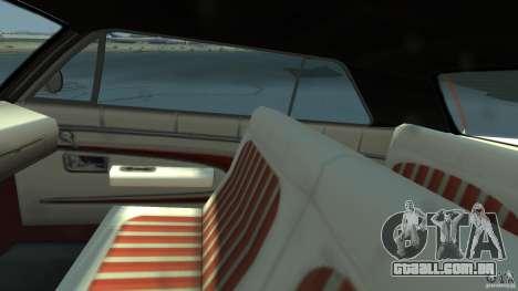 Voodoo Boat para GTA 4 vista de volta