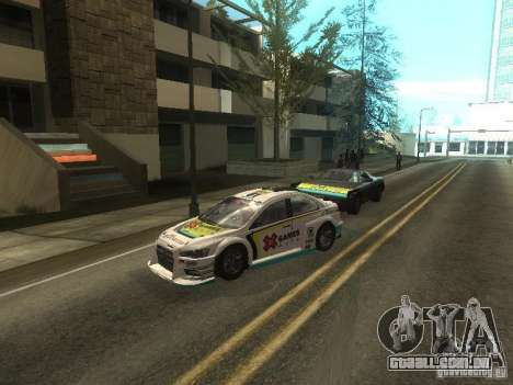 Mitsubishi Lancer Evo X Trailblazer Dirt2 para GTA San Andreas