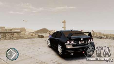Honda Civic Mugen RR para GTA 4 traseira esquerda vista