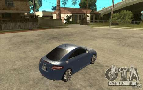 Audi TT 3.2 Coupe para GTA San Andreas vista direita