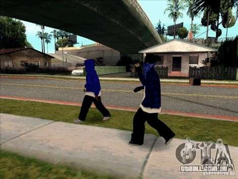 Crips Gang para GTA San Andreas quinto tela