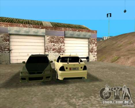 LEXUS IS300 Light tuned para GTA San Andreas esquerda vista