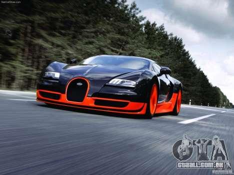 Carregamento telas Bugatti Veyron para GTA San Andreas segunda tela
