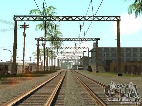 Entrar em contato com a rede 2 para GTA San Andreas segunda tela