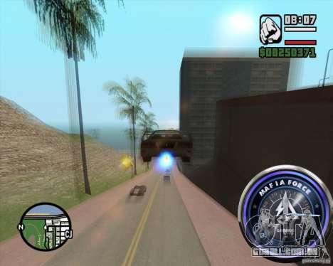 Velocímetro-2 para GTA San Andreas segunda tela