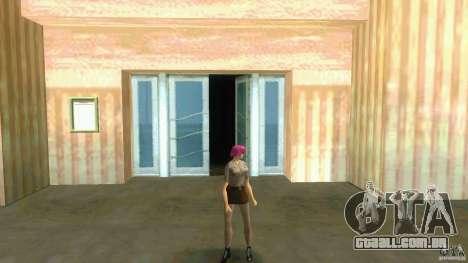 Girl Player mit 11skins para GTA Vice City nono tela