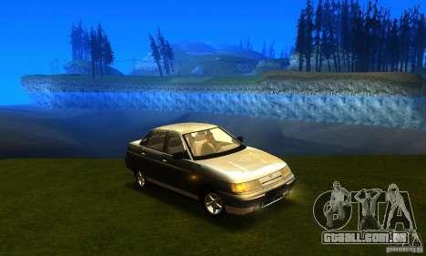 LADA 21103 v 2.0 para GTA San Andreas traseira esquerda vista