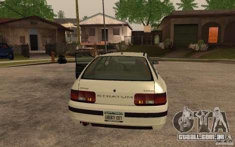 Estrato de GTA IV para GTA San Andreas esquerda vista