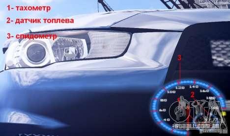 Fuel mod v3.0.0 (BETA) para GTA 4 por diante tela