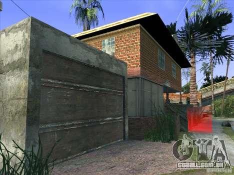 Grove Street Retextured para GTA San Andreas sétima tela