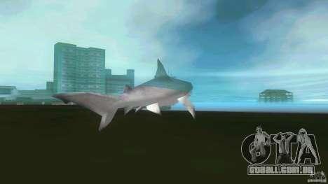 Shark Boat para GTA Vice City vista direita