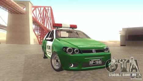 Fiat Siena Carabineros De Chile para GTA San Andreas