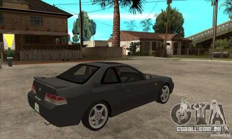 Honda Prelude SiR para GTA San Andreas vista direita