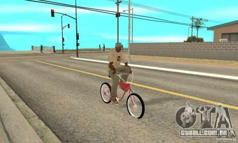 Classic Bike para GTA San Andreas vista direita