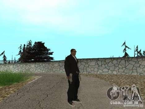 CJ Mafia Skin para GTA San Andreas segunda tela