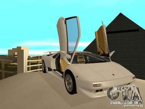 Lamborghini Diablo VT 1995 V2.0 para GTA San Andreas vista interior