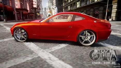 Ferrari 612 Scaglietti custom para GTA 4 esquerda vista