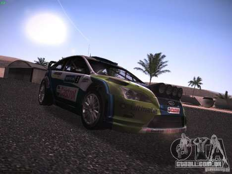Ford Focus RS WRC 2006 para GTA San Andreas vista direita
