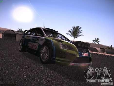 Ford Focus RS WRC 2006 para GTA San Andreas vista direita