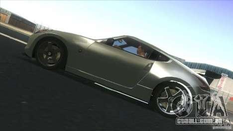 Nissan 370Z Drift 2009 V1.0 para GTA San Andreas vista direita