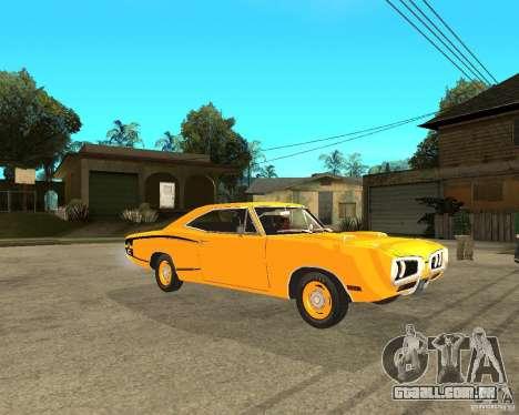 Dodge Coronet Super Bee 70 para GTA San Andreas vista direita