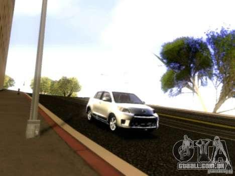 Scion xD para vista lateral GTA San Andreas