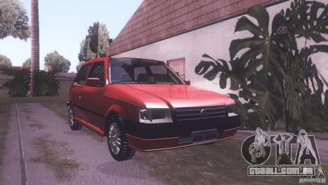 Fiat Uno Mile Fire Original para GTA San Andreas