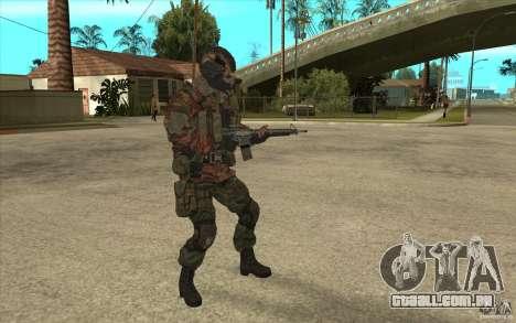 Bandeira das forças especiais para GTA San Andreas segunda tela