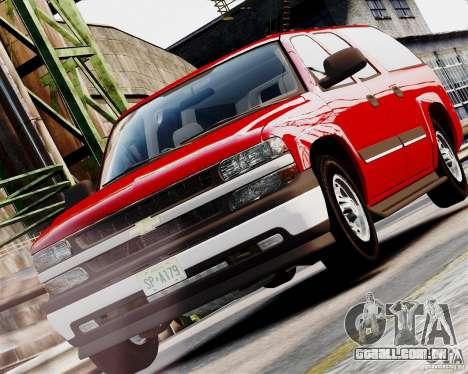 Chevrolet Suburban 2006 V1.1 CIVIL para GTA 4