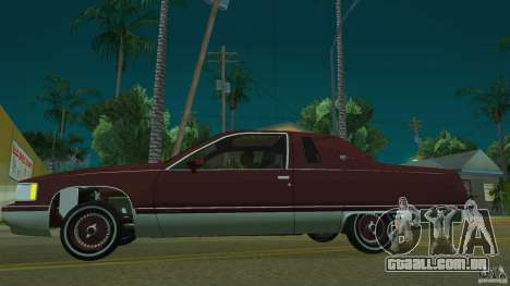 Cadillac Fleetwood 1993 para GTA San Andreas esquerda vista