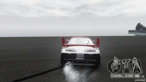 Toyota Supra Apexi Race System para GTA 4 vista de volta