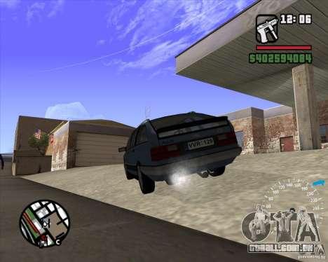 Audi 100 Avant para GTA San Andreas traseira esquerda vista