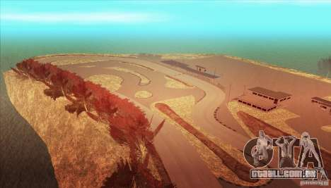 The Ebisu South Circuit para GTA San Andreas sexta tela
