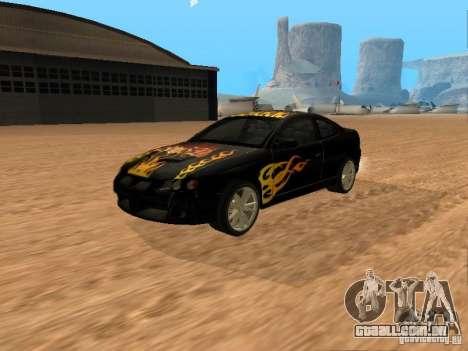 Vauxhall Monaro para GTA San Andreas vista interior