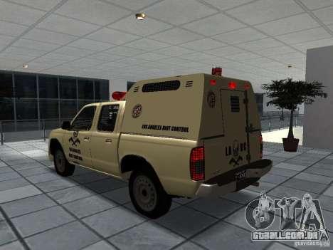 Nissan Terrano LARC para GTA San Andreas esquerda vista