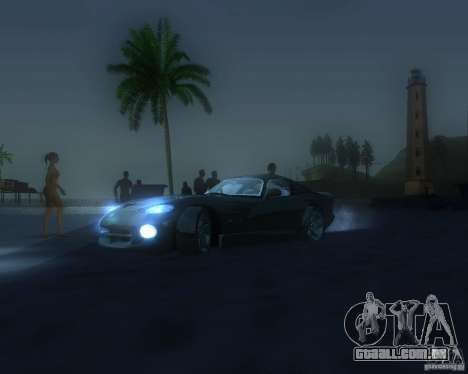 Modificação gráfica global para GTA San Andreas oitavo tela