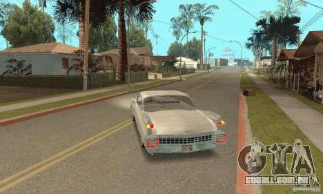 Cadillac 1959 para GTA San Andreas esquerda vista