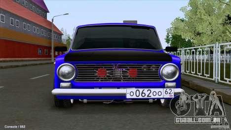 VAZ 2101 Coupe Loui para GTA San Andreas esquerda vista