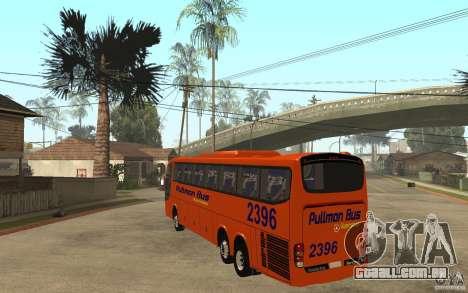 Marcopolo Paradiso 1200 Pullman Bus para GTA San Andreas traseira esquerda vista