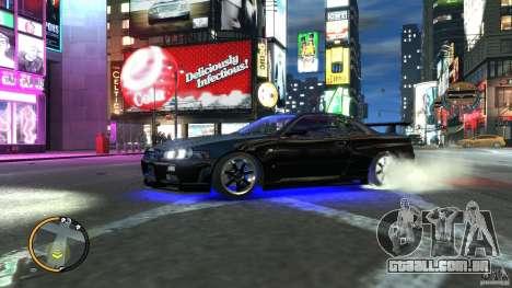 Nissan SkyLine R34 GT-R V-spec II para GTA 4