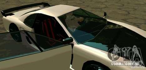 New Turismo para GTA San Andreas vista superior