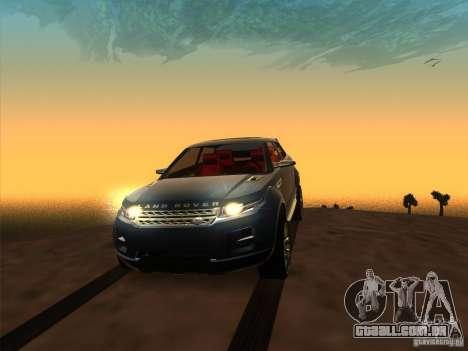 ENBSeries by Fallen v2.0 para GTA San Andreas quinto tela