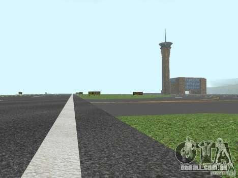 New Airport San Fierro para GTA San Andreas por diante tela