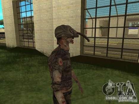 Snork de S.T.A.L.K.E. r para GTA San Andreas terceira tela