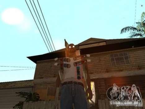 Raid para GTA San Andreas segunda tela